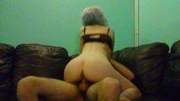 Image Gostosa sentando e rebolando na rola