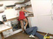 Dona de casa gostosa dando pro encanador