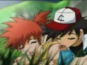 Ash metendo sua pokebola na gostosa do Pokemon Go porno