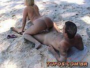 Sexo anal na praia