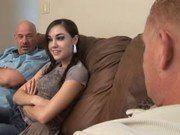 Sasha Grey com dois caras ao mesmo tempo