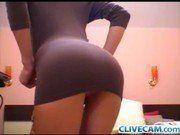 Image Adolescente de 18 anos exibindo na webcam