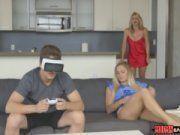Realidade virtual no porno