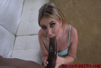 Mamando a mamba negra gigante do namorado